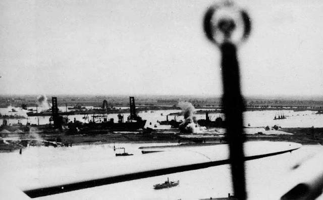 Bristol Blenheims attack Rotterdam, 16 July 1941 worldwartwo.filminspector.com