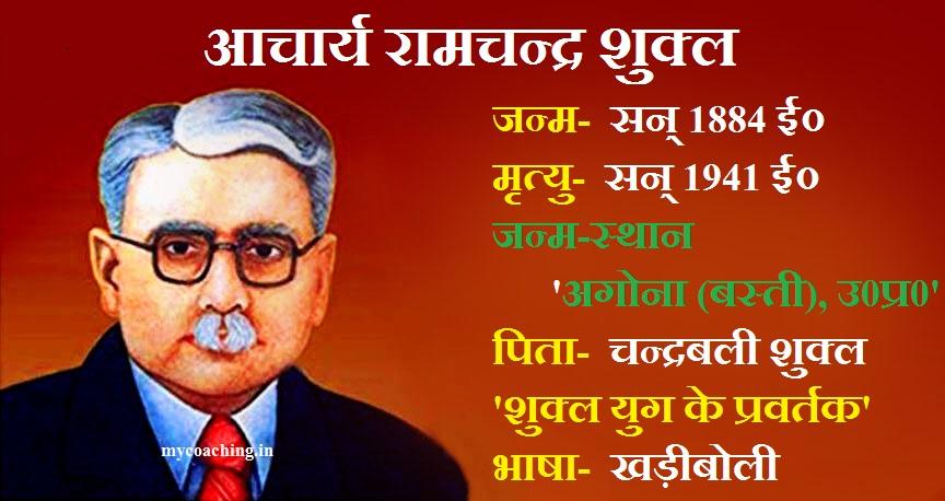 Acharya Ramchandra Shukla