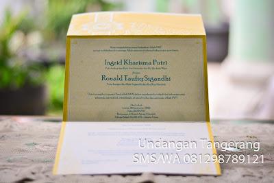 Undangan Pernikahan Tangerang