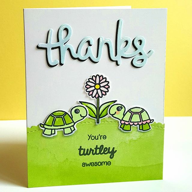 Sunny Studio Stamps: Sunny Saturday Shares Card by Lenae