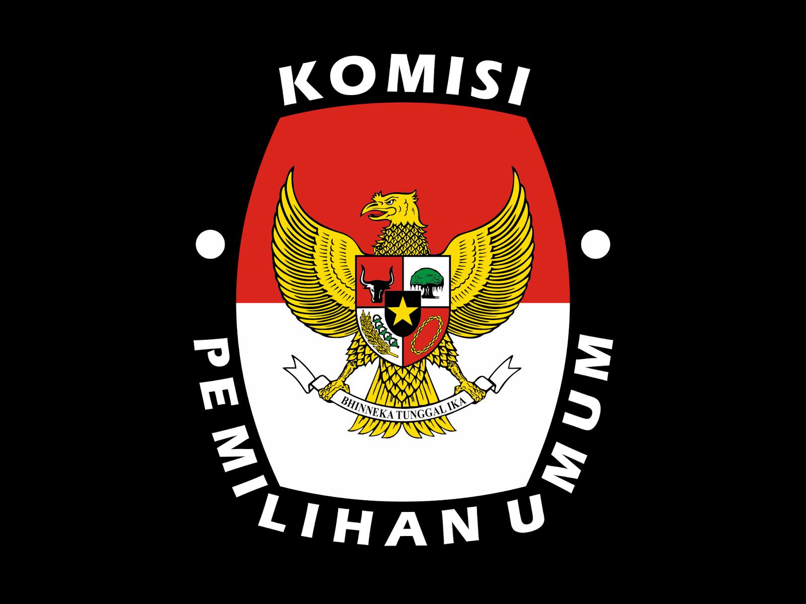 logo kpu komisi pemilihan umum format cdr amp png