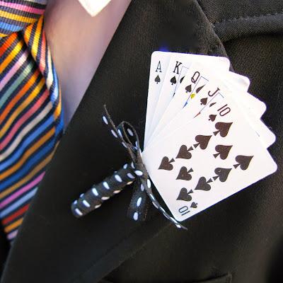 wedding ideas - boutonniere ideas - card shark - wedding services in Philadelphia PA. - inspiration by K'Mich - wedding ideas blog