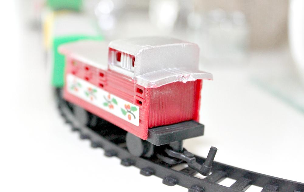 Kerst treintje