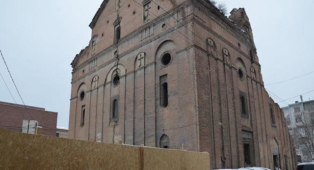 Marcha en Tbilisi para pedir protección de santuarios armenios