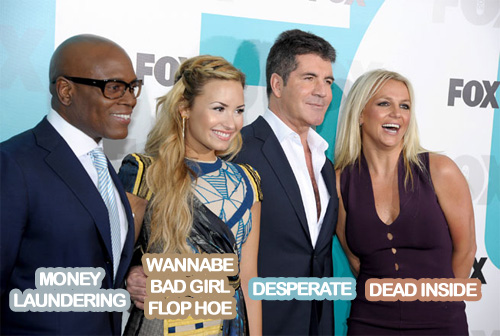 The X-Factor US hot mess judge panel | WTF?
