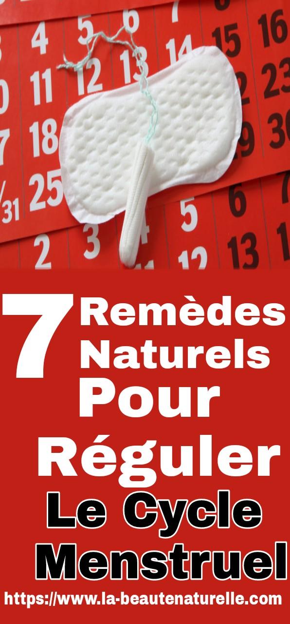 7 remèdes naturels pour réguler le cycle menstruel