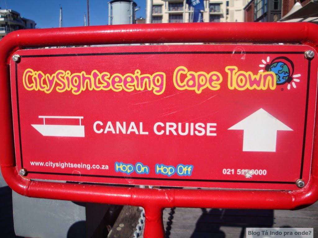 canal cruise na Cidade do Cabo