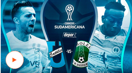 Universidad Católica  vs. Petrolero de Yacuiba - Copa Sudamericana