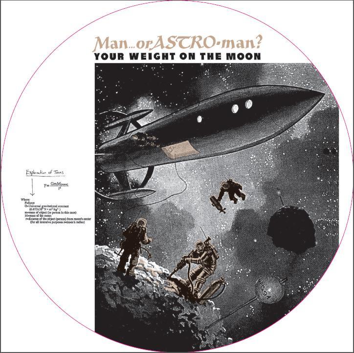 Man S Weiight On The Moon 51