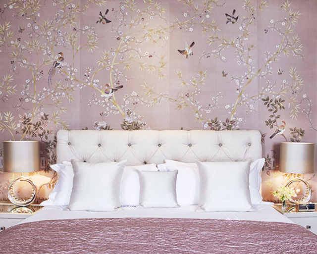 Bedroom, Images of inspiration in Lavender, Lilac and Mauve