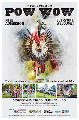 Poster for St. Paul's Pow Wow