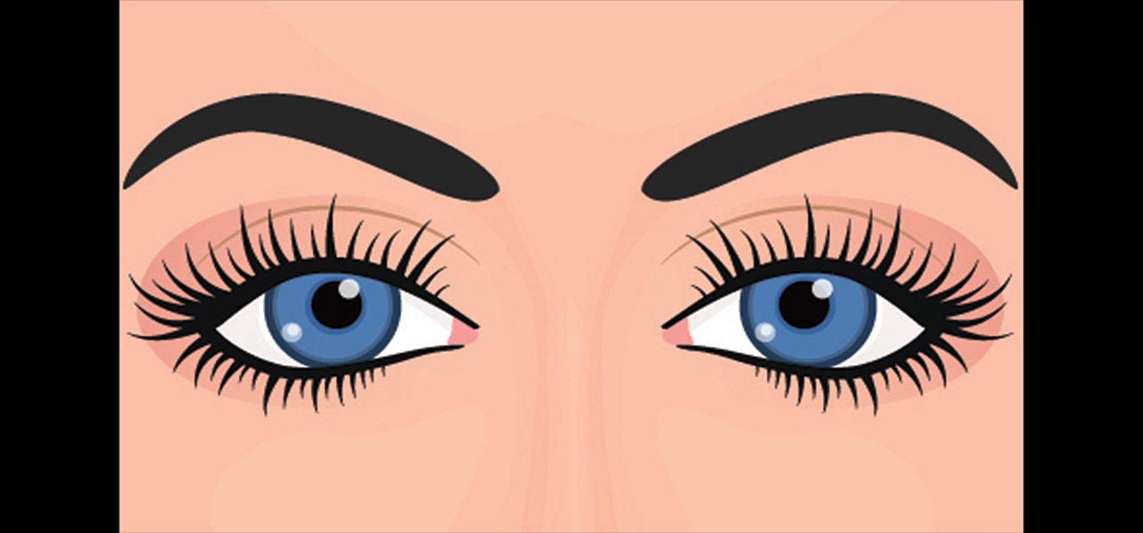 Eye makeup instructions