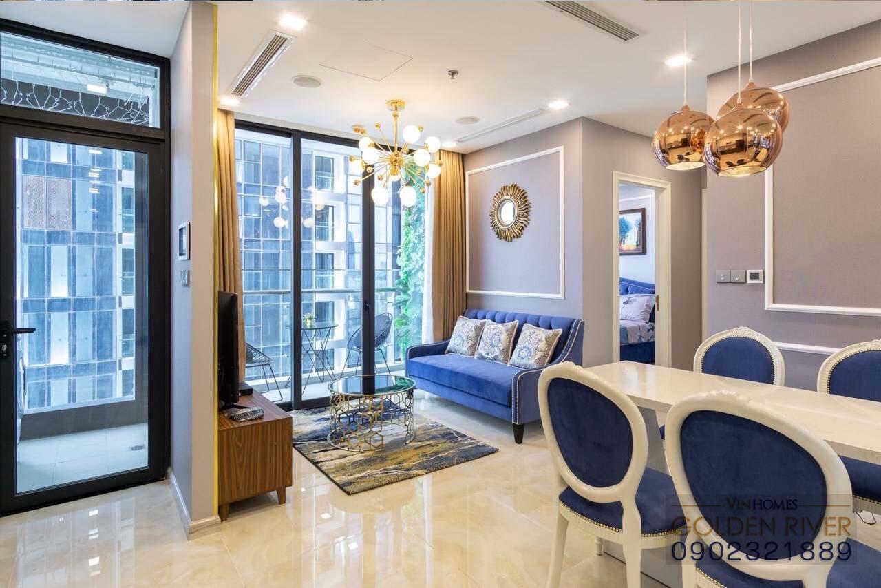 Vinhomes Golden River Aqua 1 cho thuê căn hộ 74m² - hình 2