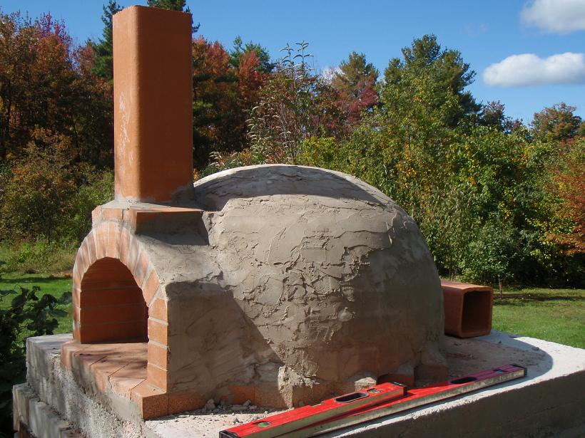 Building My Wood Fired Oven Construction Walk Through