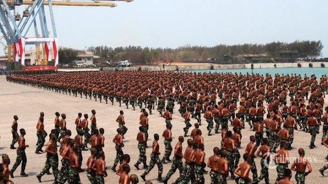 Kekuatan Militer Indonesia Peringkat 1 di Asia Tenggara