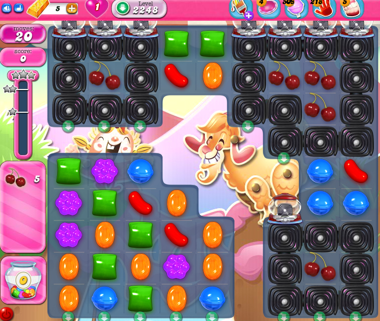 Candy Crush Saga level 2248