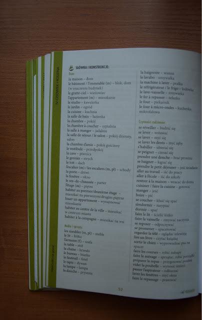 """Recenzje #10 """"Francuski nie gryzie"""" + konkurs - przykładowa lista słówek - Francuski przy kawie"""