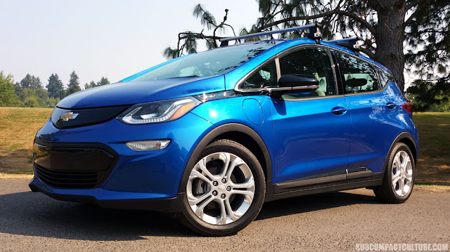2017 Chevrolet Bolt LT front  - Subcompact Culture