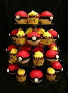 Cupcakes Festa Pokemon