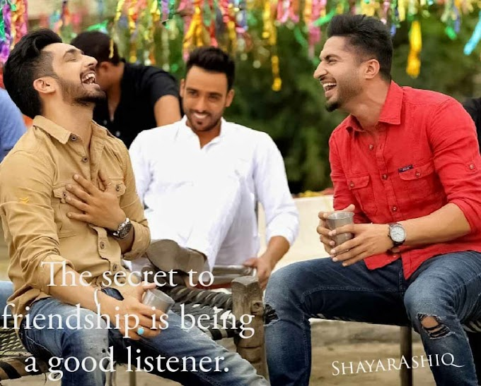 Friendship Quotes|| ShayarAshiq