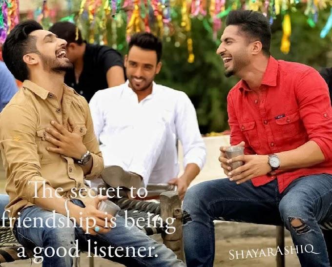 Friendship Quotes|| ShayarAshiq