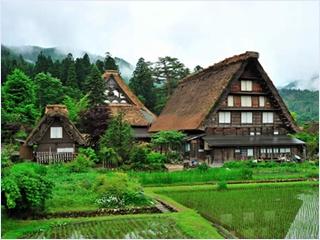 หมู่บ้านชิราคาวาโกะ (Shirakawago)