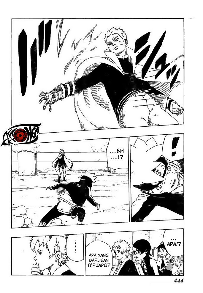Boruto Chapter 16-25