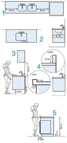 مقاسات هامة لتصميم المطابخ For Architects