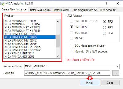 Mẹo sửa một số lõi thường gặp trên phần mềm kế toán Misa 2015 2016 2017