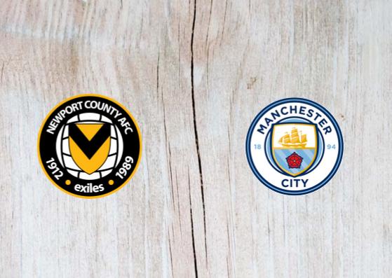 Newport vs Manchester City Full Match & Highlights 16 February 2019