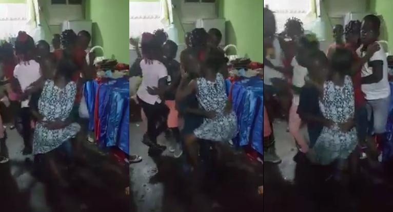 "This video of kiddies ""rocking"" each other at birthday party bothers me"