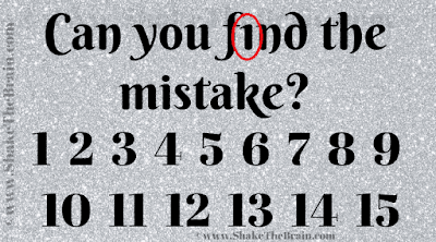 Answer of Spot the Mistake Picture Puzzle