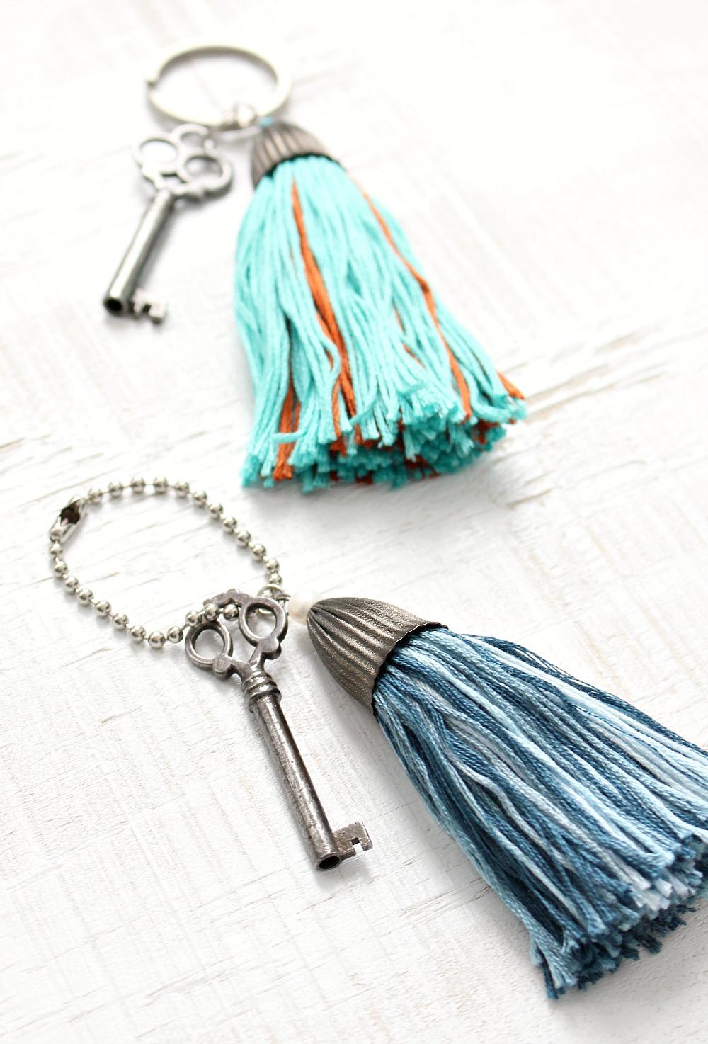 Handmade Craft Idea: DIY Tassel
