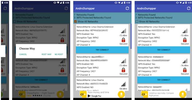 تحميل تطبيق اختراق شبكات عبر تغرة wps  2017