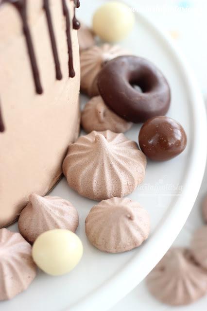 Receta merenguitos de chocolate