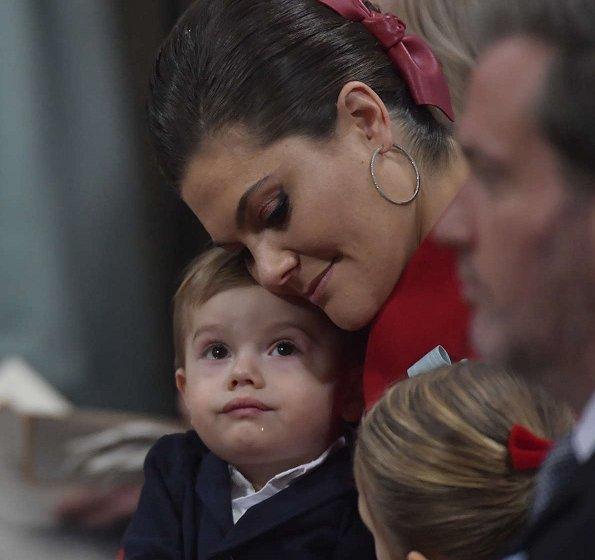 Crown Princess Victoria, Prince Daniel, Princess Estelle, Prince Oscar, Prince Carl Philip, Princess Sofia, Prince Alexander, Princess Madeleine