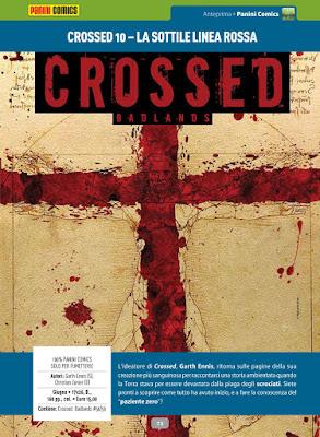 Crossed #10 - La sottile linea rossa