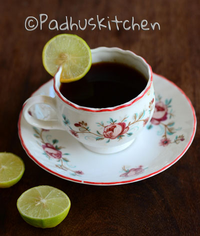 grandma's remedy for Diarrhea-Black tea for Diarrhea
