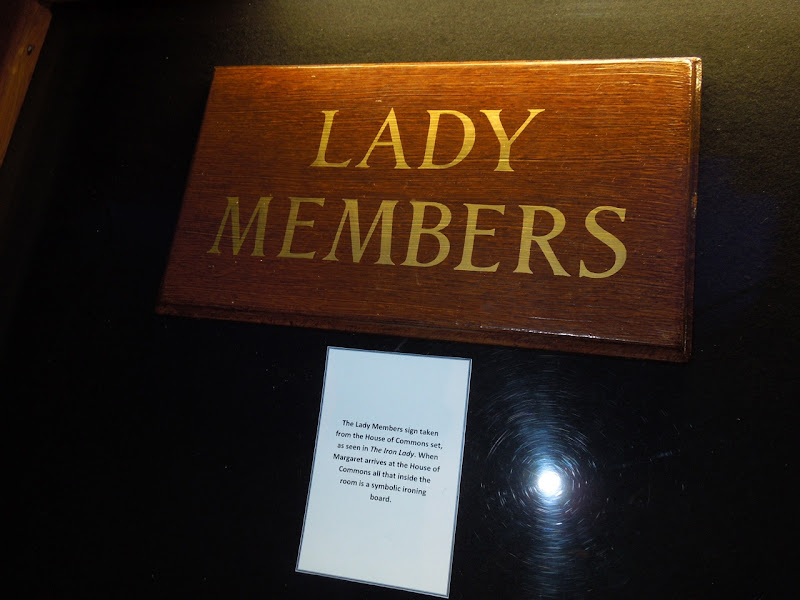 Iron Lady Lady Members sign