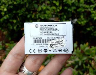 Baterai Motorola SNN5743A Original New 810mAh C975 E1000 M500 V980