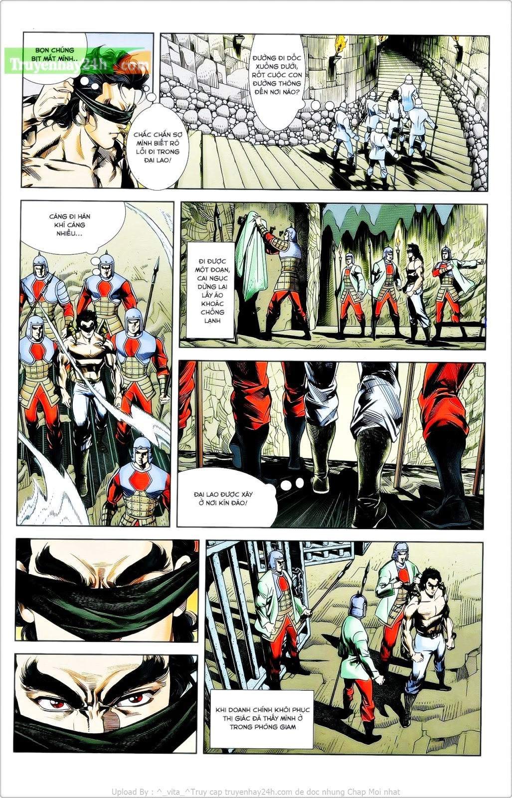 Tần Vương Doanh Chính chapter 24 trang 18