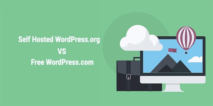 WordPress Hosted vs Free