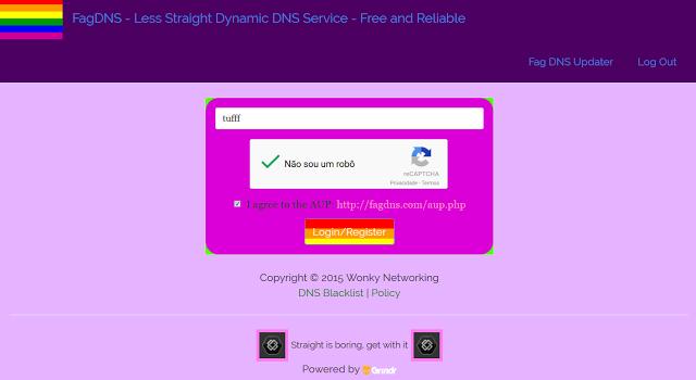 FagDNS - Less Straight Dynamic DNS Service