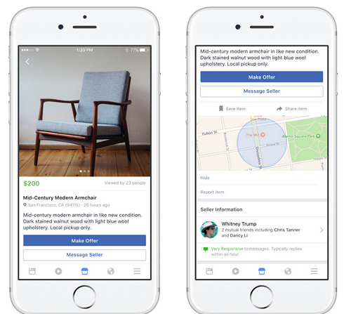 FACEBOOK NOW ALLOWS USERS TO BUY AND SELL ANYTHING WITH THE NEWLY LAUNCHED FACEBOOK MARKETPLACE