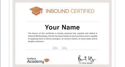 Certificaciones en Inbound Marketing de HubSpot