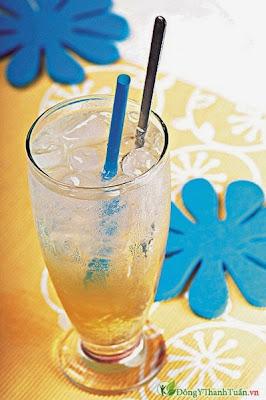 Chữa bệnh viêm họng bằng nước soda gừng