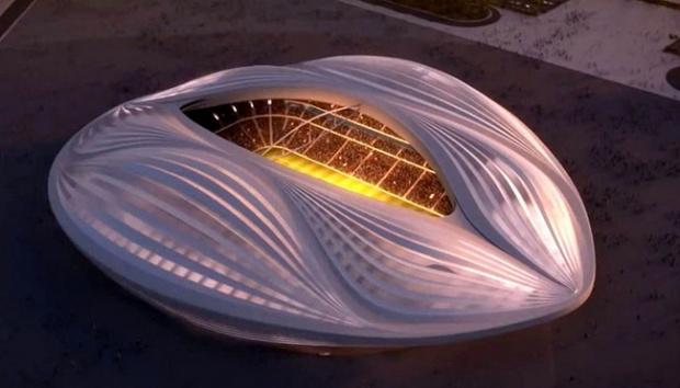 Stadion Al-Wakrah. (REUTERS)