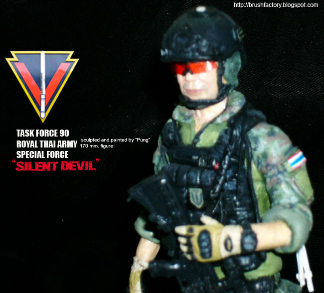 Brush Factory: Task Force 90 Royal Thai Army