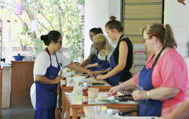 Thai Secret Cooking Class Photos. March 9-2017. Pa Phai, San Sai District, Chiang Mai, Thailand.