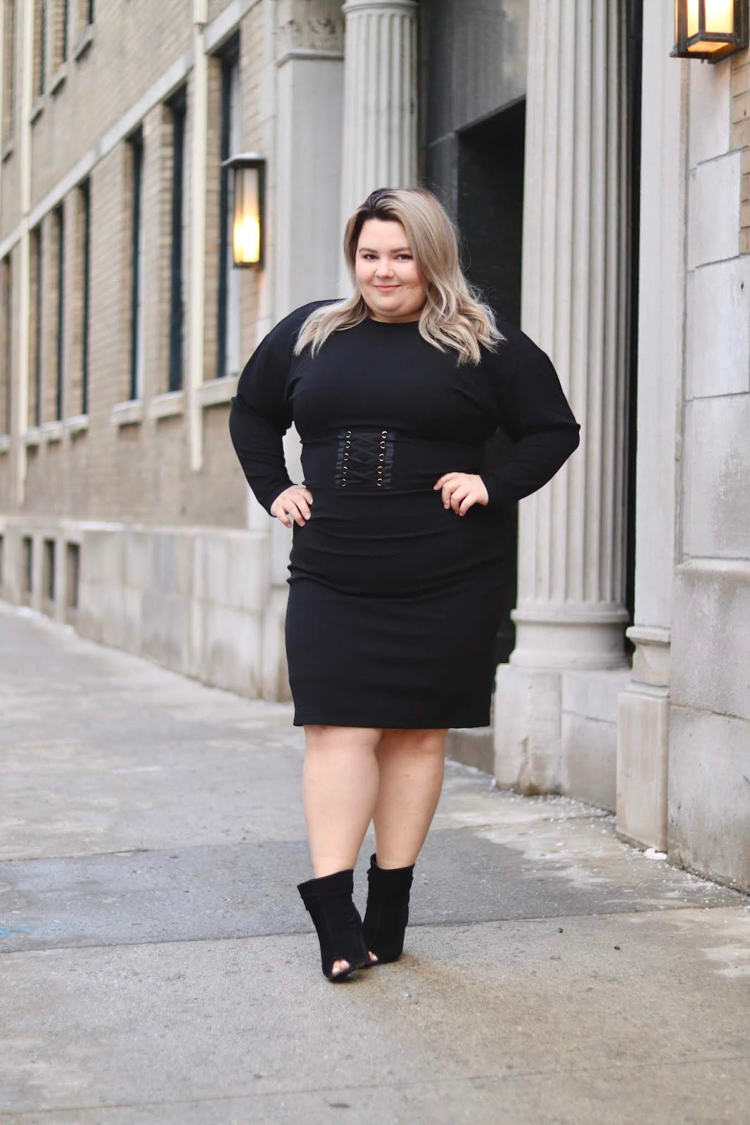 Chicago Plus Size Petite Fashion Blogger, YouTuber, and model Natalie Craig, of Natalie in the City, buys a whole wardrobe for under $200 at Gordmans, including active wear, work wear, casual looks, and sexy dresses for a night out on the town.